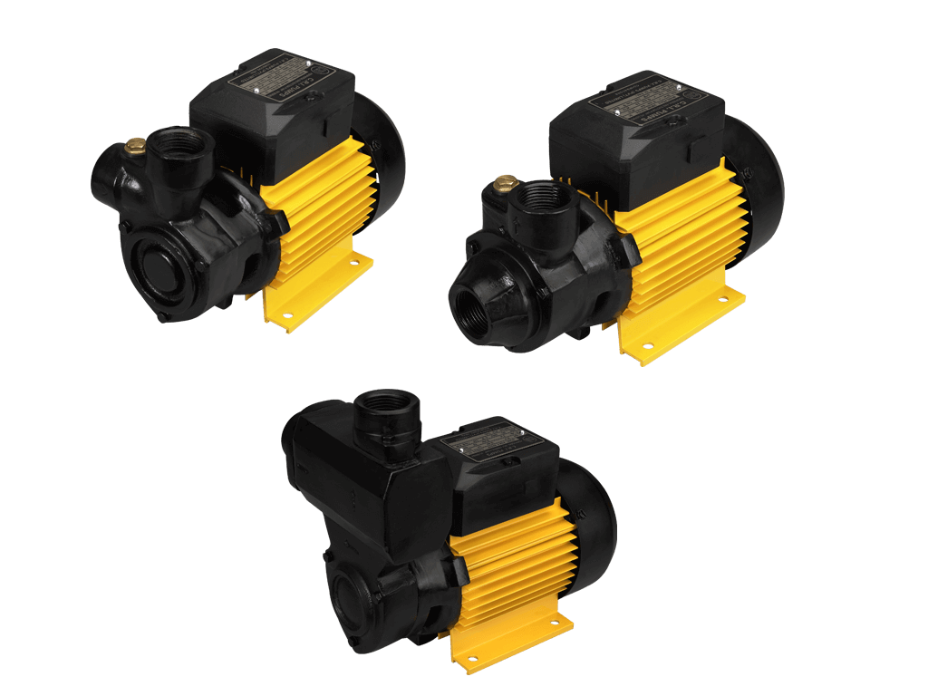 Peripheral surface pumps